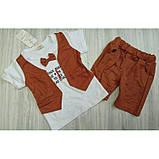 Летний нарядный костюм мальчику  Размер: 98 см, фото 2