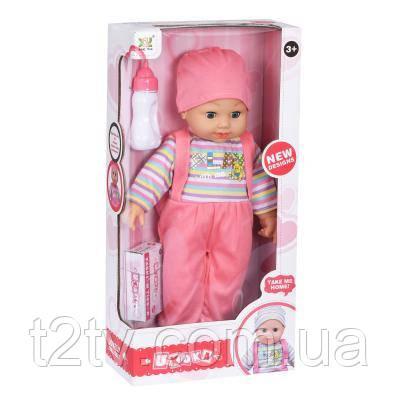 Кукла Same Toy в полосатом со звуком 45 см (8023C4Ut)