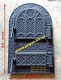 Дверка чугунная, чугунное литье, дверцы барбекю, мангал, печи, грубу, фото 2