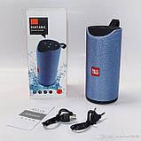 Портативная bluetooth колонка TG-113 blue, фото 5