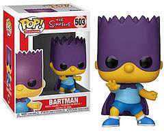 Фигурка Funko Pop The Simpsons Bartman Симсоны Бартмен TS B503