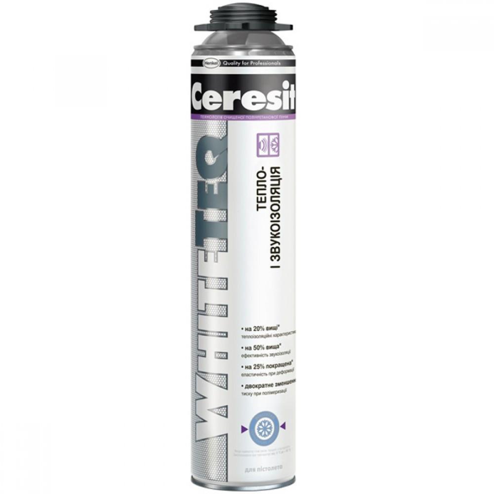 Пена Ceresit WhiteTeq (под пистолет) /750