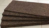 Пробковый агломерат 10 мм черный (тепло-звукоизоляция)