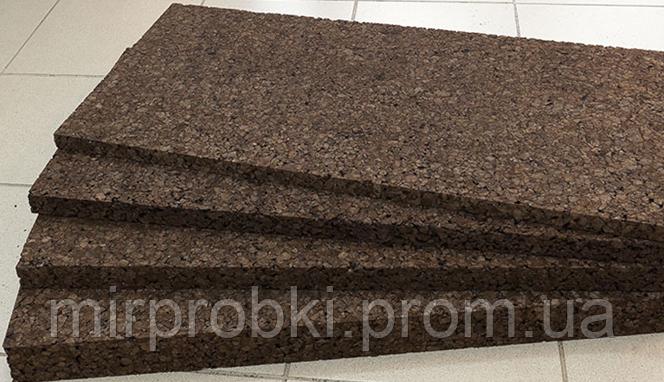 Пробковый агломерат  20 мм черный (тепло-звукоизоляция) - МИР ПРОБКИ в Одессе