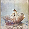 "Льняное полотенце ""Лебеди"""