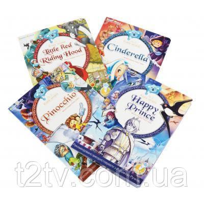 Інтерактивна іграшка Smart Koala розвиваюча книга Fairy Tales (Season1) 4 книги (SKSFTS1)