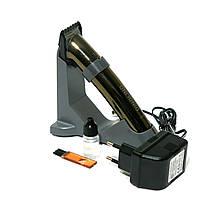 Машинка-триммер для стрижки волос, бороды и усов на аккумуляторе Dingling RF-668С +  подарок