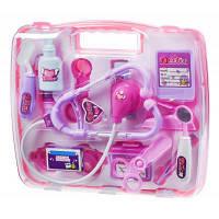 Игровой набор Same Toy Доктор в кейсе розовый (7735BUt)