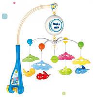 Мобіль-карусель на батарейках Пташки Baby Mix HS-1660M