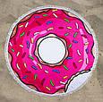 """Пляжный коврик """"Пончик"""" 150 см (плотный), фото 2"""