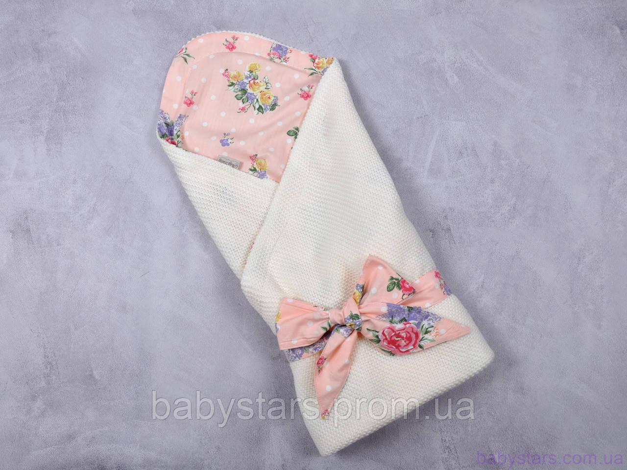 """Плед конверт """"Belle"""", Цветы"""