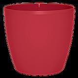Цветочный горшок МАТИЛЬДА с системой контроля полива + дренаж (Алеана) 16х15, фото 2