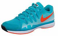 Кроссовки мужские Nike Zoom Vapor 9.5 tour ocean-blue/orange (631458-381)