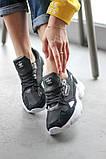 Женские кроссовки Adidas Falcon Black/White (Адидас Фалькон), фото 2