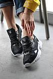 Женские кроссовки Adidas Falcon Black/White (Адидас Фалькон), фото 5