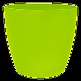 Цветочный горшок МАТИЛЬДА с системой контроля полива + дренаж (Алеана) 16х15, фото 5