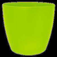 Цветочный горшок МАТИЛЬДА с системой контроля полива + дренаж (Алеана) 24х22, фото 1