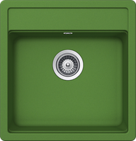 Гранитная мойка Schock Nemo N 100 S Cristalite (green)
