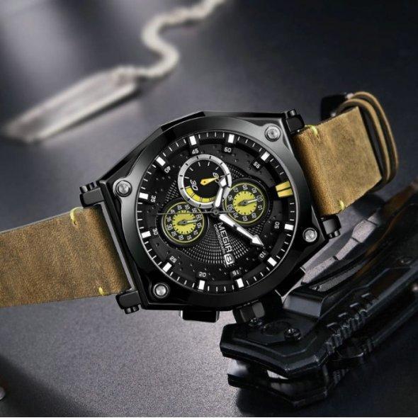 Чоловічі наручні годинники Jedir Wood