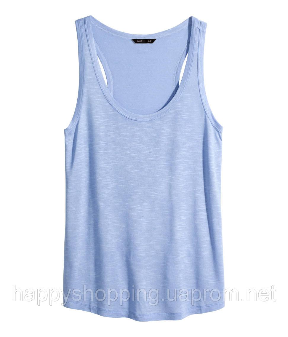 Голубая майка H&M