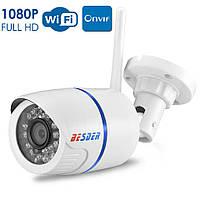 Внешняя погодозащитная камера Besder 1080P Wi-Fi IPOnvif 2 Mp Инфракрасное ночное видение.Объектив 6мм YooSee