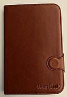 Чехол-книжка для Samsung Galaxy Note 8.0, N5100, Samsung  GT-N5100 кожа с силиконом, с отсеком для визиток,, фото 1