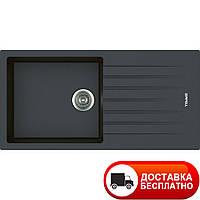 Гранитная мойка Apell Pietra Plus PTPL1001GB BLACK GRANIT 100*50