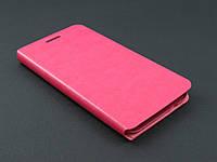 Чехол книжка для Samsung Galaxy E5 E500h розовая
