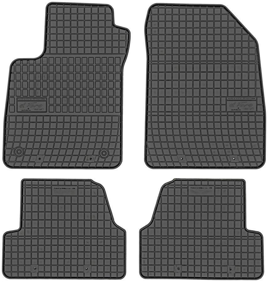 Коври салону резинові Chevrolet Trax 2013-  Elegant EL 200708