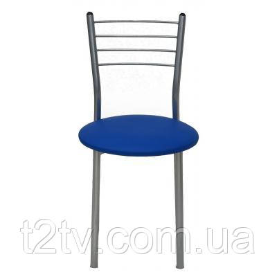 Кухонный стул ПРИМТЕКС ПЛЮС 1022 alum S-5132 Синий (1022 alum S-5132)