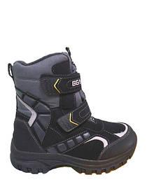 Детские зимние термо ботинки, термосапожки, обувь с мембраной, сноубутсы, дутики