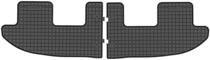 Коври салону резинові Seat Alhambra II 3-й ряд 2010-  Elegant EL 2004051
