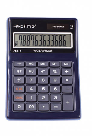 Калькулятор водонепроницаемый 12-разрядный