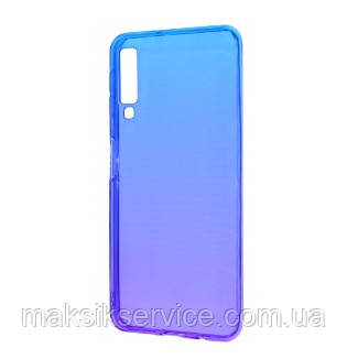 Чехол Gradient Design Samsung A50 2019 A505 blue\purple