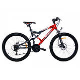 "Велосипед Azimut Scorpion 24""х17 GFRD 2021, фото 5"