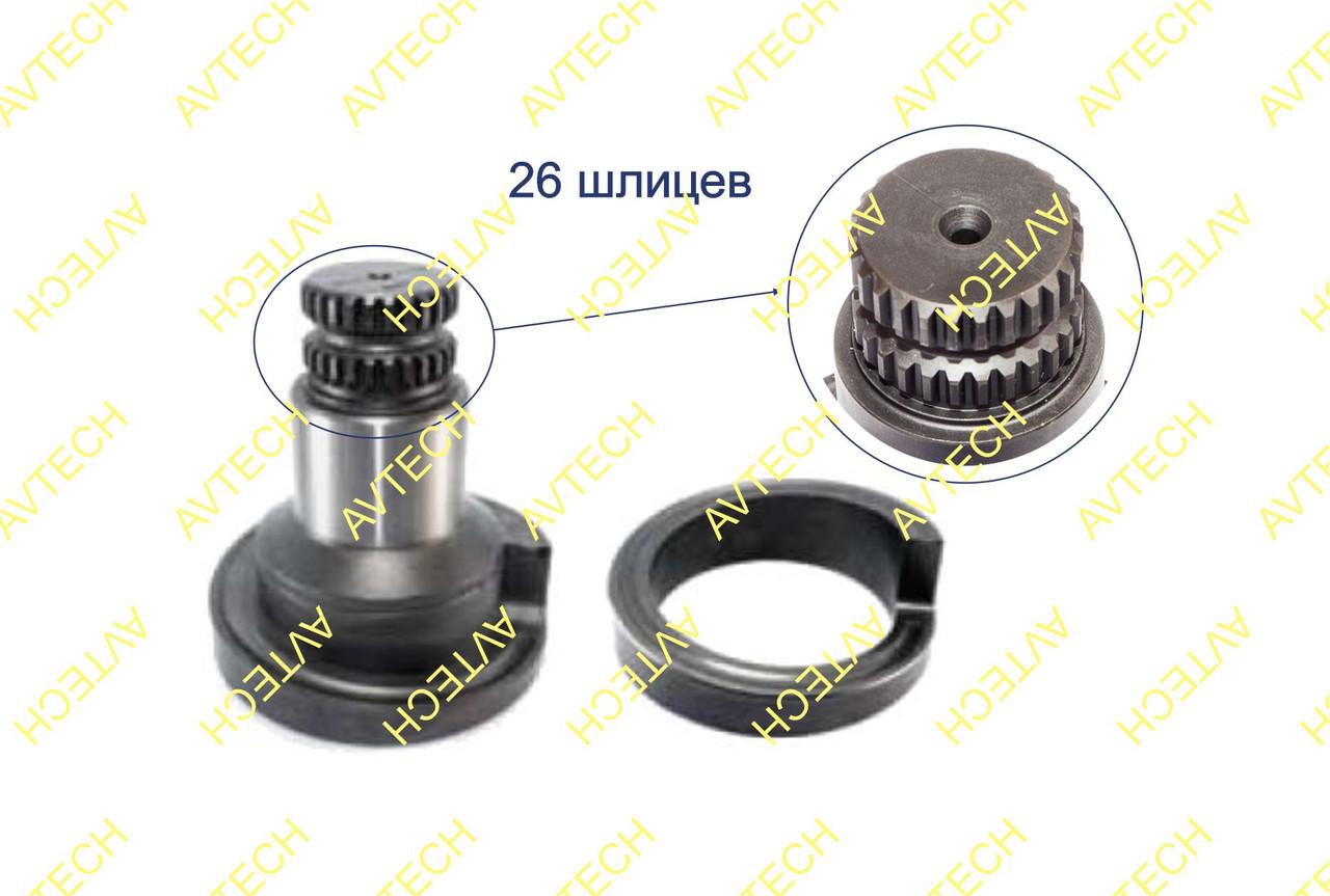 M0065 Вал приводной со спиралью 26 шлицев правый
