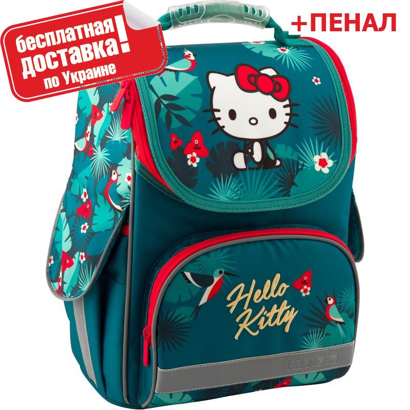 Новинка!Рюкзак школьный каркасный Kite Education Hello Kitty HK19-501S