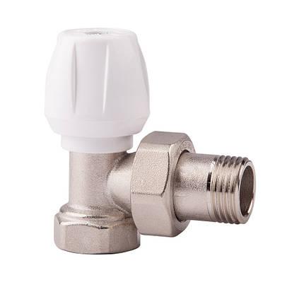 Угловой ручной вентиль простой регулировки 1/2 ICMA 803 (Италия), фото 2