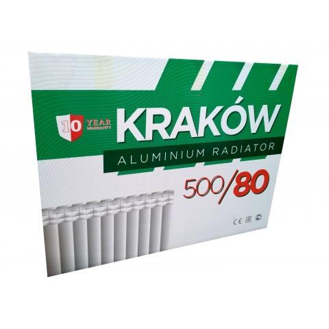 Алюминиевый радиатор KRAKOW 500X80 (Польша), фото 1