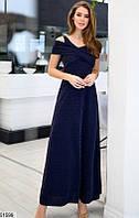 Вечернее женское платье макси Размеры 42,44,46