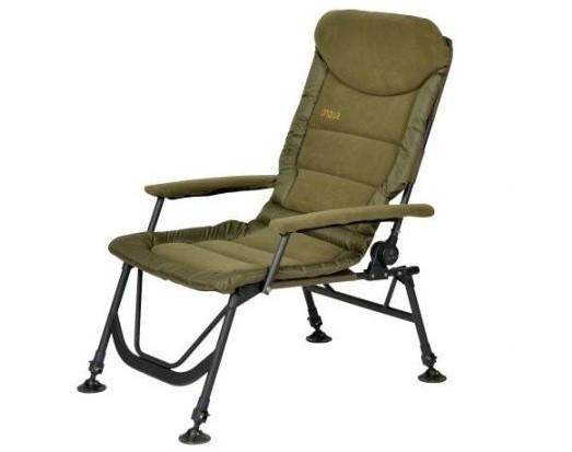 Карповое кресло Elektrostatyk FK7 SUPRA с подлокотниками (нагрузка до 120 кг)