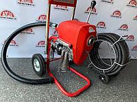 Машина для прочистки канализации, труб 50мм-250мм Dali D-200 1-A