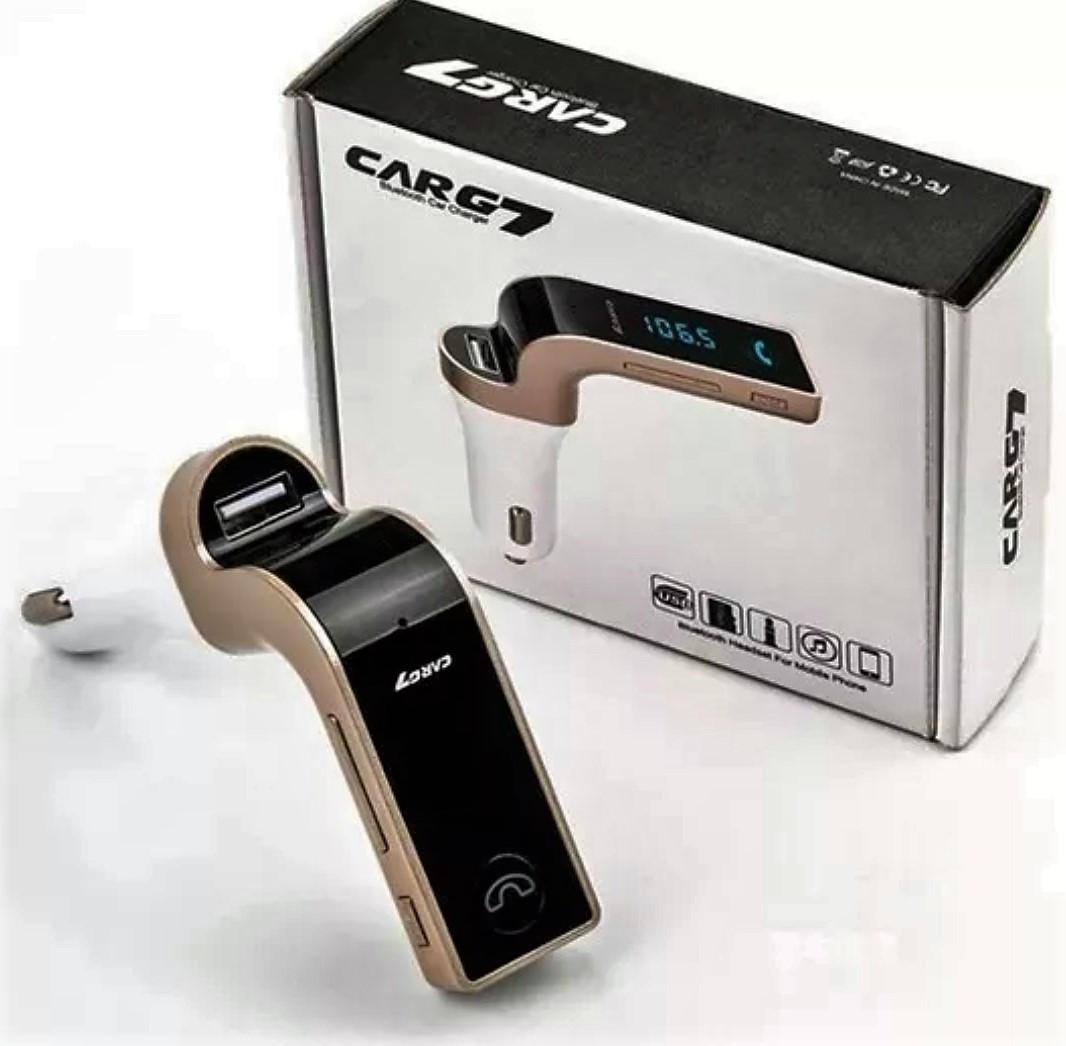 Автомобільний Bluetooth FM модулятор (трансмітер) G7