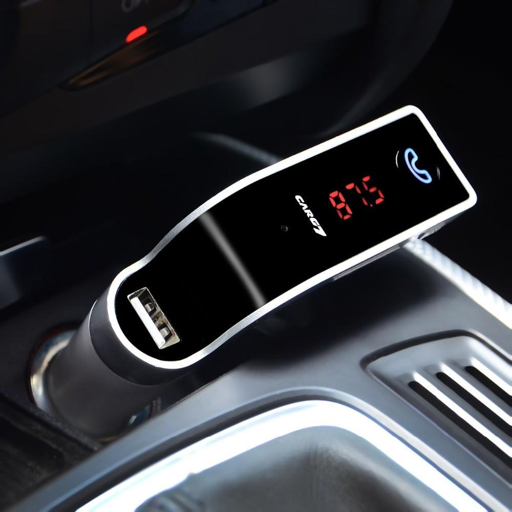 Автомобильный Bluetooth FM модулятор (трансмиттер) G7