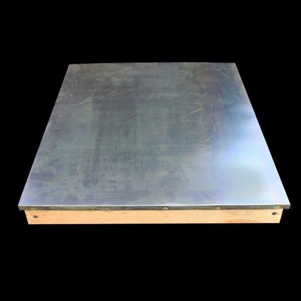Обшивка алюминием крыши лежака