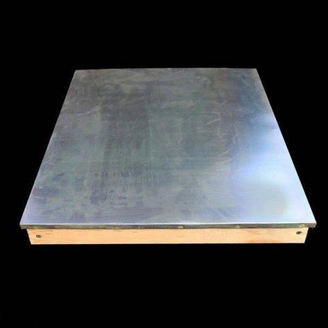 Обшивка алюминием крыши лежака, фото 2