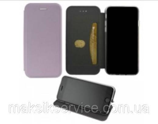 Чехол-книжка Elite Case Samsung A7 2019 A750 серый