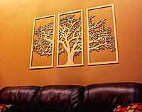 Декоративное резное панно на стену МДФ