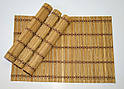 Набор бамбуковых сервировочных ковриков GA Dynasty 16020, фото 4