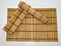 Набор бамбуковых сервировочных ковриков GA Dynasty 16020, фото 6